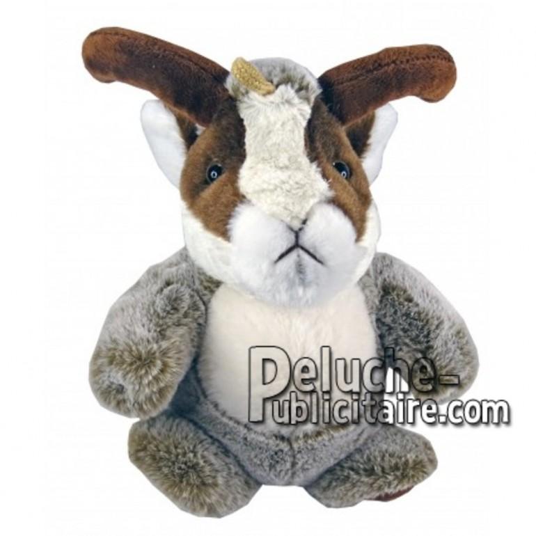 Buy Brown chamois plush 25cm. Personalized Plush Toy.