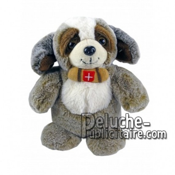 Buy Brown st bernard dog plush 25cm. Personalized Plush Toy.