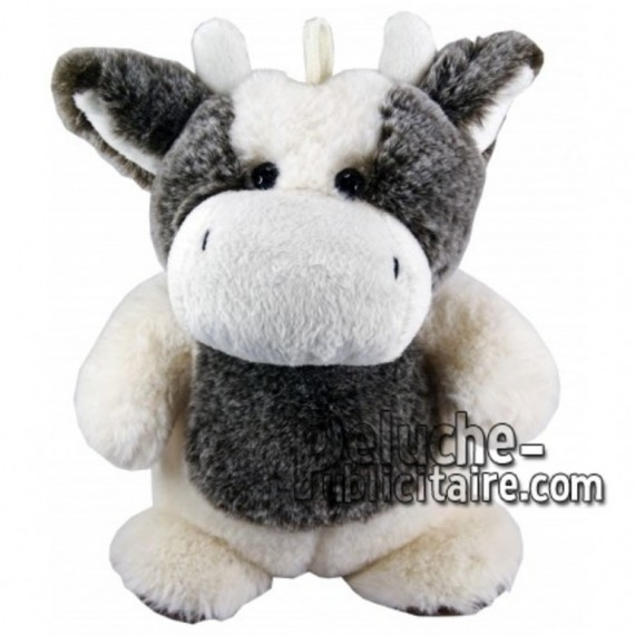 Buy White cow plush 25cm. Personalized Plush Toy.