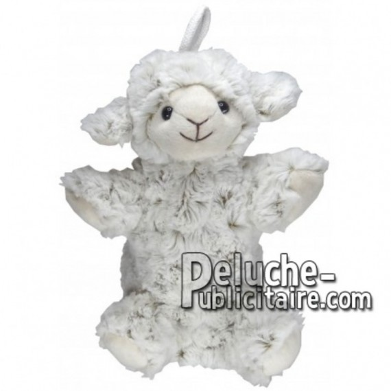 Buy White sheep plush 20cm. Personalized Plush Toy.