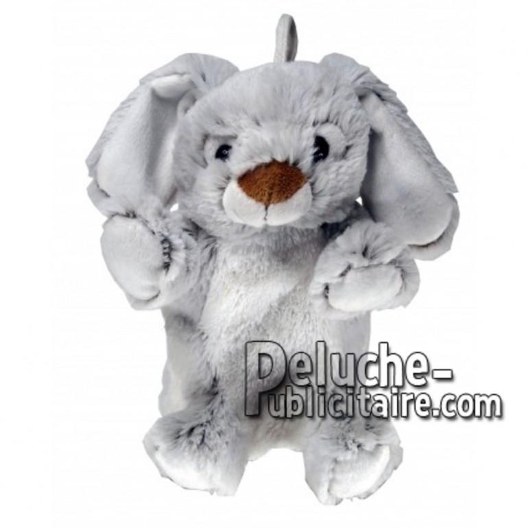 Buy Grey rabbit plush 20cm. Personalized Plush Toy.