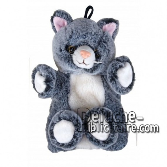 Buy Grey cat plush 20cm. Personalized Plush Toy.