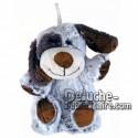 Buy Brown dog plush 20cm. Personalized Plush Toy.