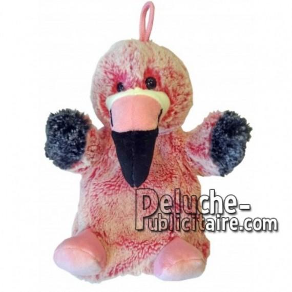 Buy pink Flamingo plush 20cm. Personalized Plush Toy.
