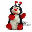 Buy red ladybug plush 20cm. Personalized Plush Toy.