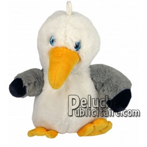 Buy White seagull plush 25cm. Personalized Plush Toy.