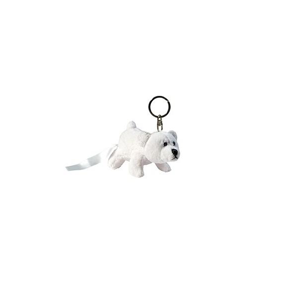 Buy Bear Plush Keychain Size 11 cm.