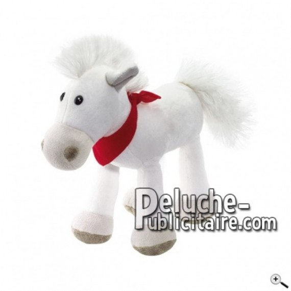 Buy White horse peluche 23cm. Personalized Plush Toy.