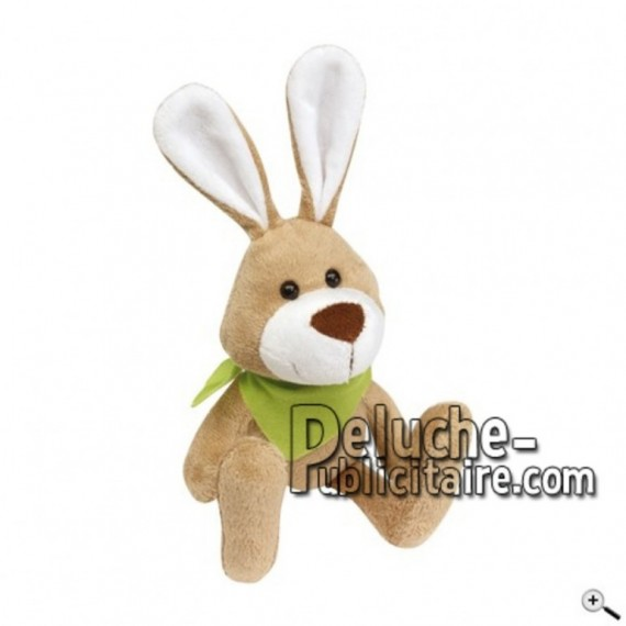 Buy Brown rabbit peluche 18cm. Personalized Plush Toy.