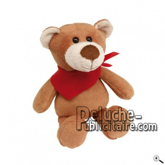 Buy Brown bear peluche 18cm. Personalized Plush Toy.
