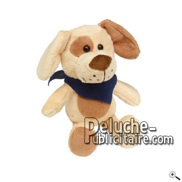 Buy Brown dog peluche 18cm. Personalized Plush Toy.