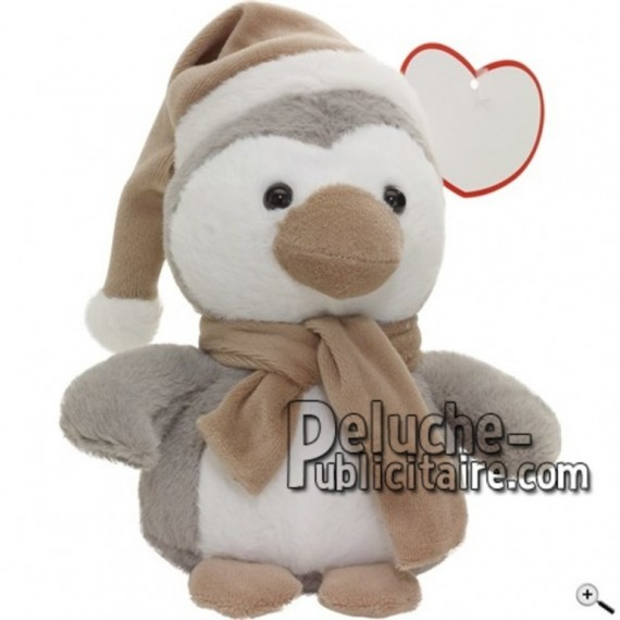 Buy Grey Penguin peluche 19cm. Personalized Plush Toy.