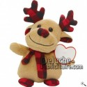 Buy Brown momentum peluche 22cm. Personalized Plush Toy.
