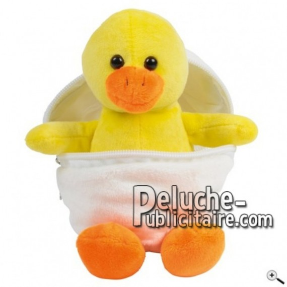 Buy yellow duck peluche 19cm. Personalized Plush Toy.