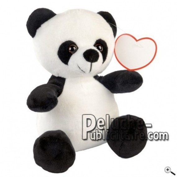 Buy White panda peluche 20cm. Personalized Plush Toy.