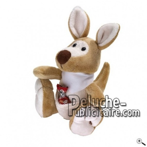 Buy Brown kangaroo peluche 18cm. Personalized Plush Toy.