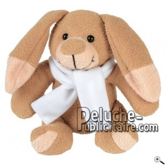 Buy Brown rabbit peluche 15cm. Personalized Plush Toy.