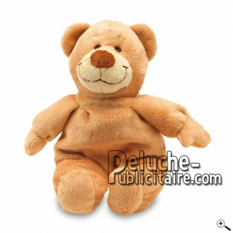 Buy Brown bear peluche 22cm. Personalized Plush Toy.
