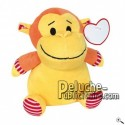 Buy yellow monkey peluche 20cm. Personalized Plush Toy.