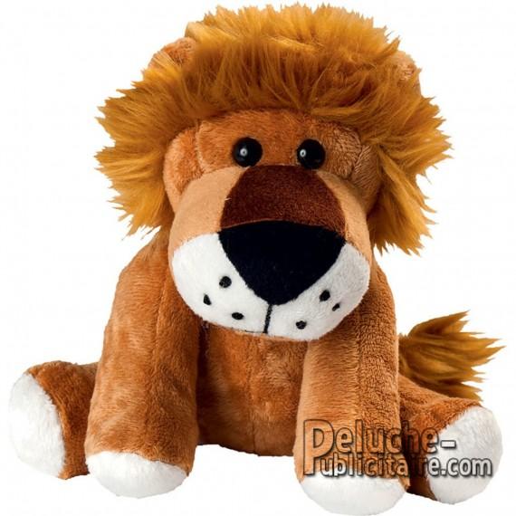 Achat Peluche Lion 15 cm. Peluche à Personnaliser.