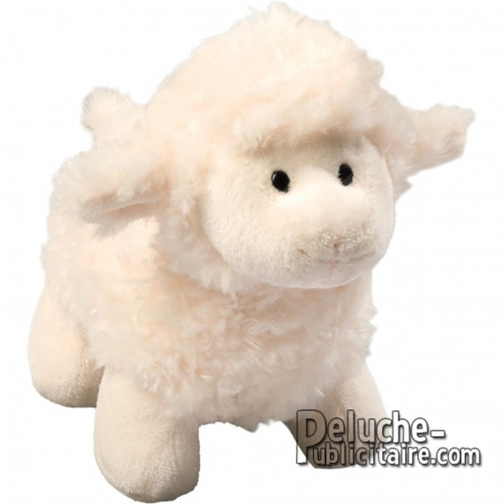 Purchase Sheepskin Plush 18 cm.Plush to customize.