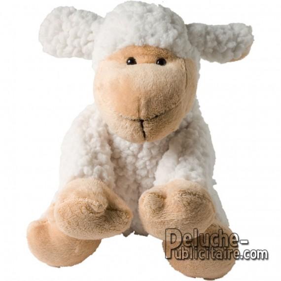 Achat Peluche Mouton 17 cm. Peluche à Personnaliser.