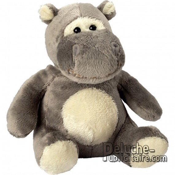 Buy Hippo Plush Toy 13 cm. Plush to customize.