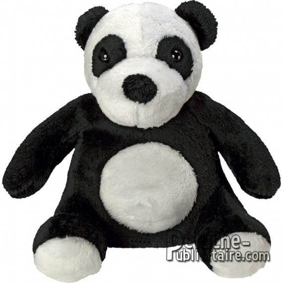 Purchase Panda Plush 13 cm. Plush to customize.