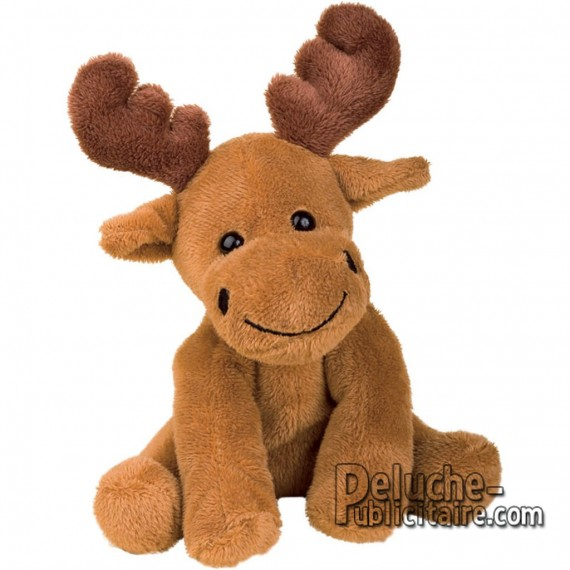 Purchase Elk Plush 15 cm. Plush to customize.