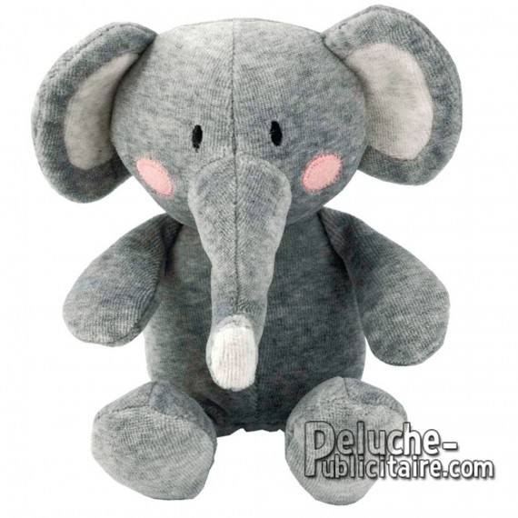 Buy Elephant Plush 19 cm. Plush to customize.