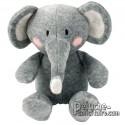 Buy Elephant Plush 19 cm.Plush to customize.