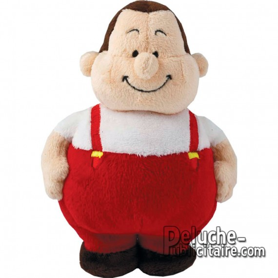 Purchase Stuffed Mr. Bert Worker 18 cm. Plush to customize.
