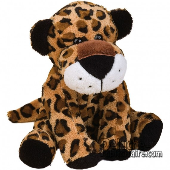 Purchase Leopard Plush 15 cm.Plush to customize.