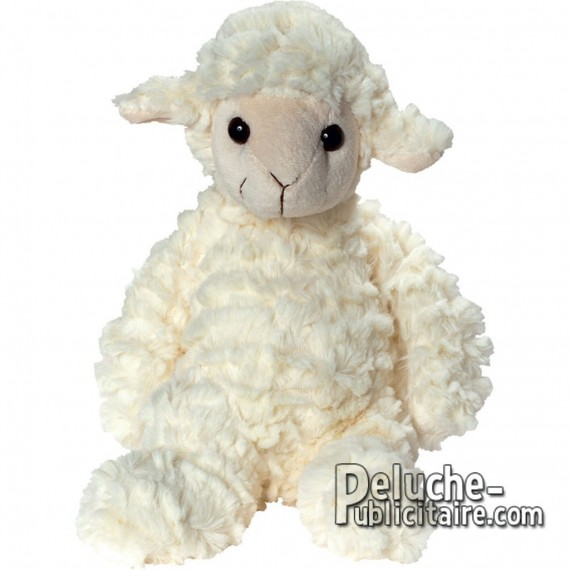 Purchase Sheepskin Plush 27 cm. Plush to customize.