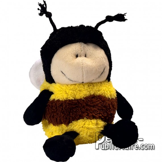 Buy Bee Plush 15 cm. Plush to customize.