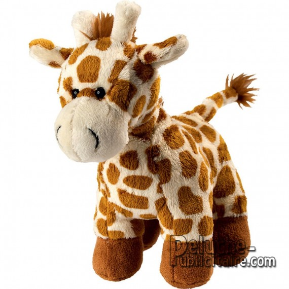 Purchase Giraffe Plush 18 cm. Plush to customize.